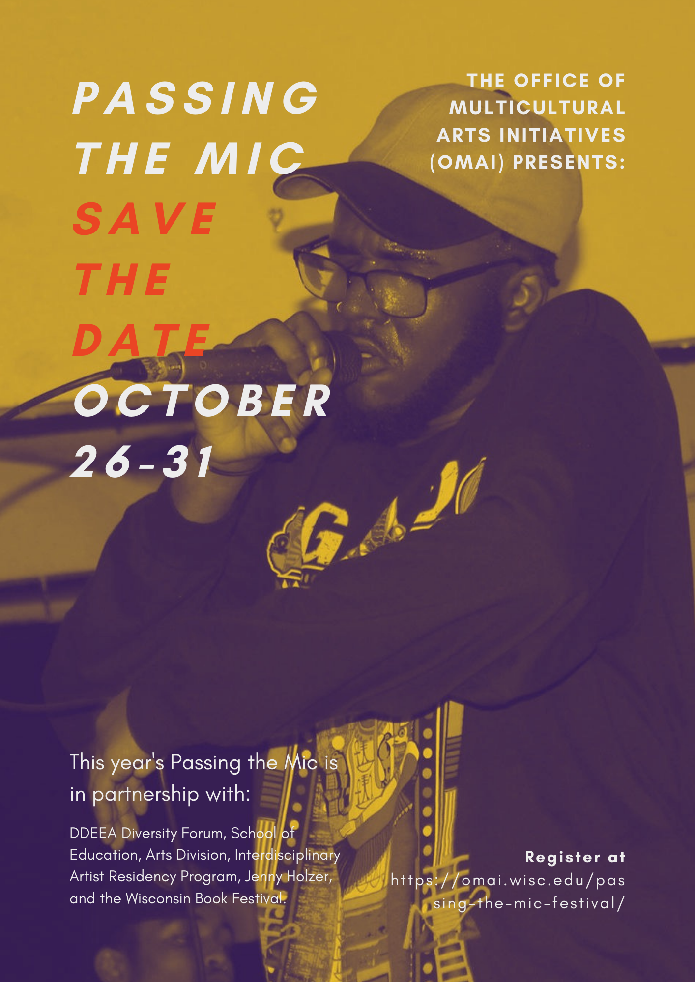 Passing the Mic 2016 Poster Front