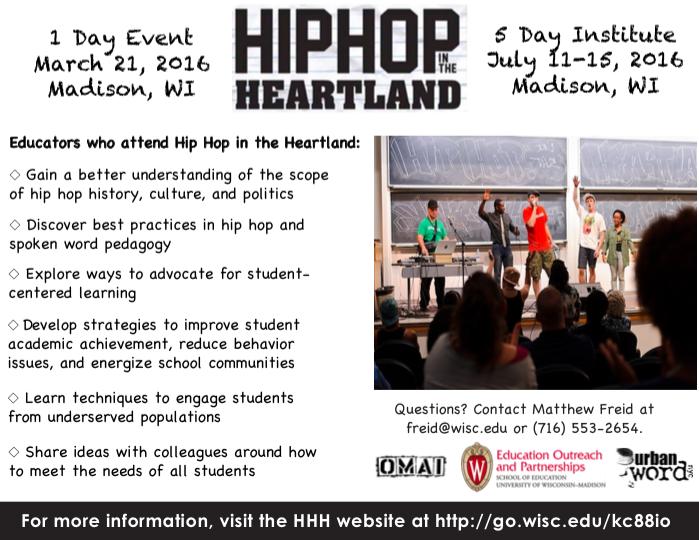 Image of Hip Hop Heartland Poster