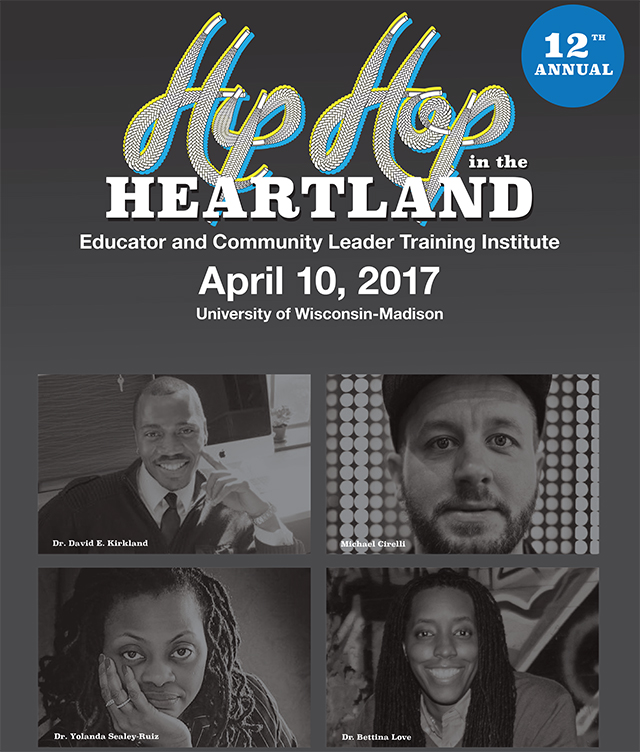 Image of Hip Hop Heartland Poster